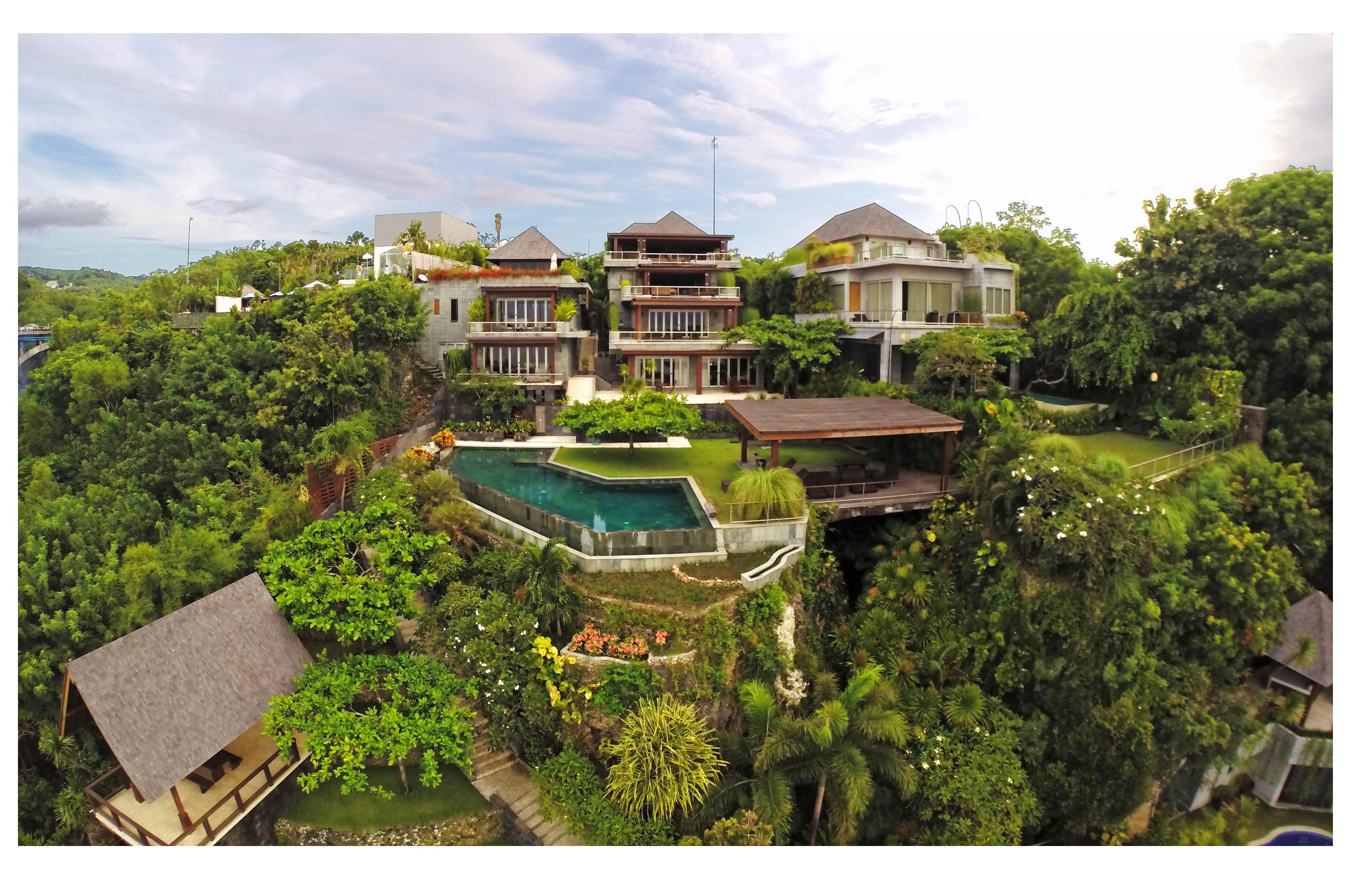 Villa Laut Bali Drone Villa Laut Bali